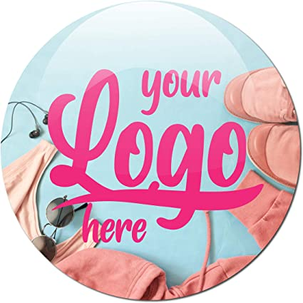 Custom personalised stickers circular square stickers with your text or business logo round Business Postage labels rectangle