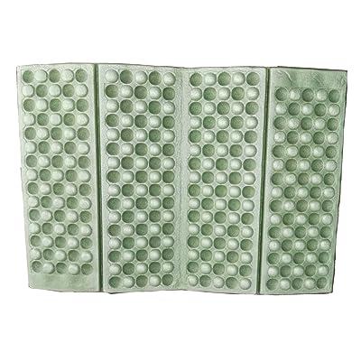 1pcs Waterproof Foldable Folding Foam Mat Chair Cushion Seat Pads (Blue, Green, Red, Orange, Purple.) (Green) : Sports & Outdoors