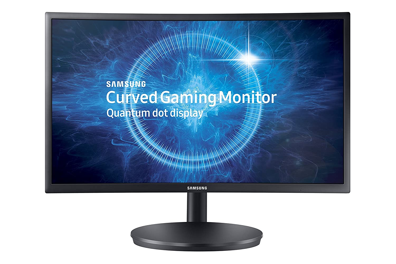 Samsung C24FG70 59,8 cm Curved LED Monitor schwarz: Amazon.de ...