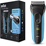 Braun Series 3 3040 Rechargeable Wet & Dry Electric Foil Shaver
