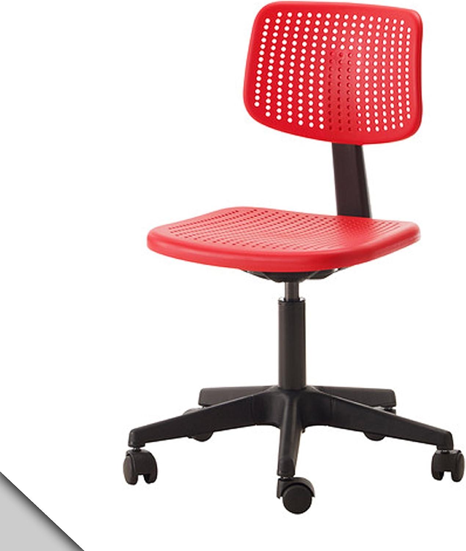 Ikea Alrik Children Swivel Chair Red Amazon Ca Home Kitchen