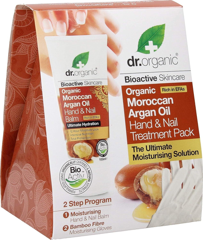 Organic Moroccan Argan Oil Hand & Nail Treatment Pack