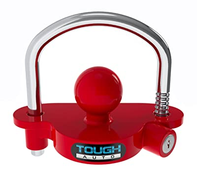 Tough Auto Trailer Hitch Lock Adjustable & Universal Fits All