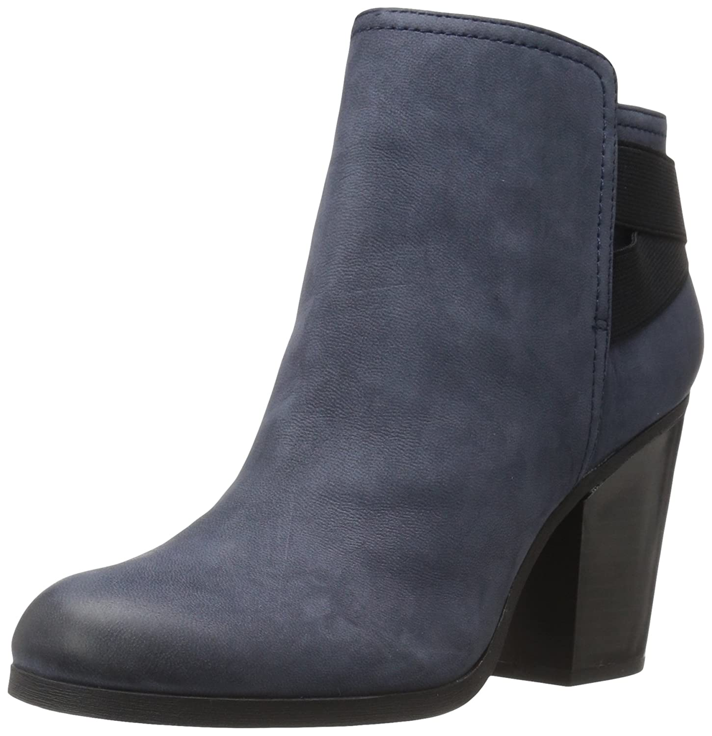 Kenneth Cole REACTION Women's Might Make It Ankle Bootie B01CPTBIGS 9.5 B(M) US|Navy