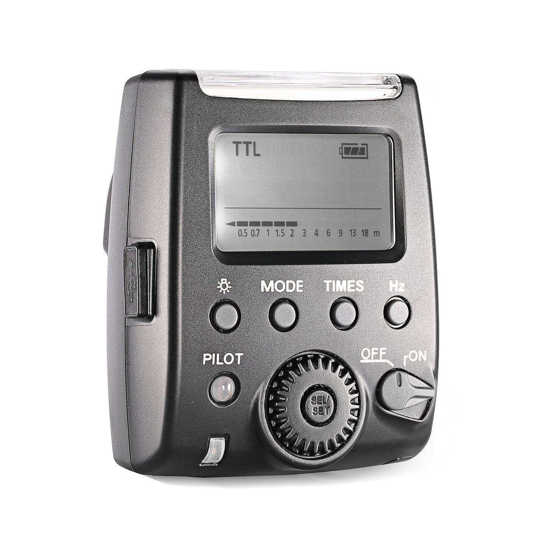 Neewer 10079454 TTL Speedlite Taschenlampe mit Mini-USB-Schnittstelle für Panasonic Kamera