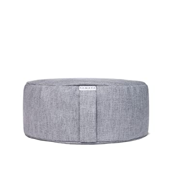 Amazon.com: Cojín de meditación de Samaya, almohada de suelo ...