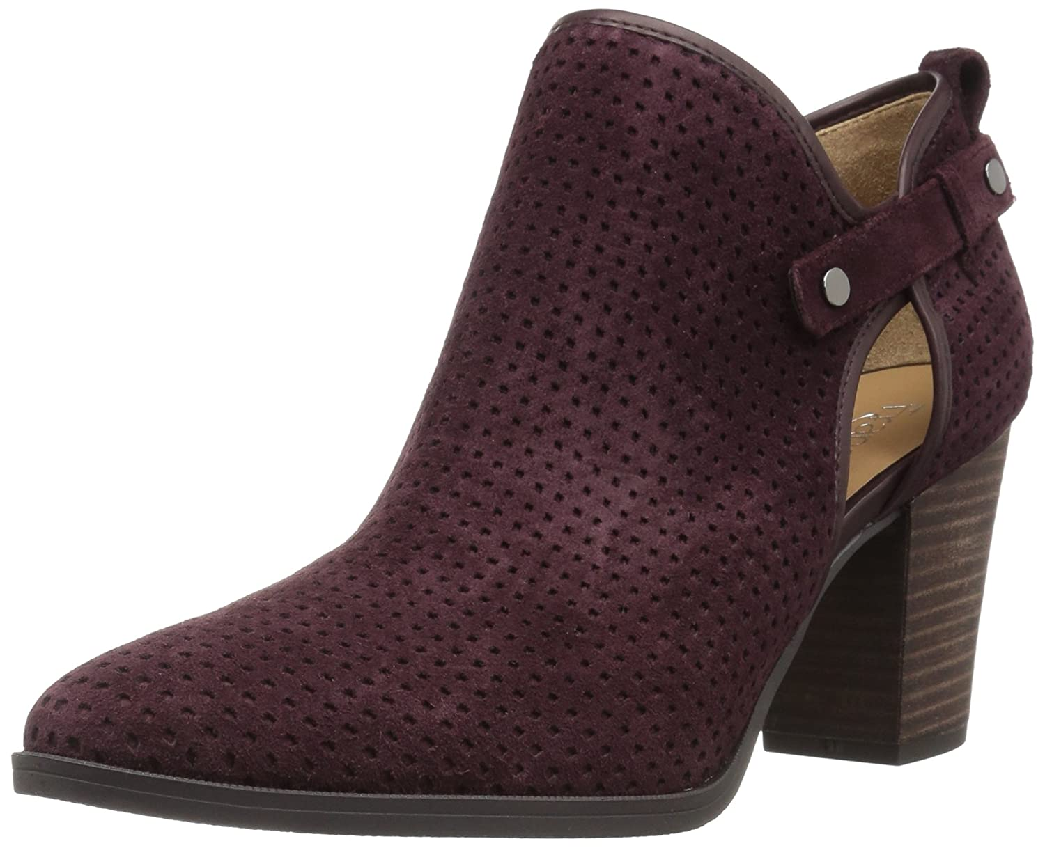 Franco Sarto Women's Dakota Ankle Boot B073YDXGGG 8.5 B(M) US|Aubergine