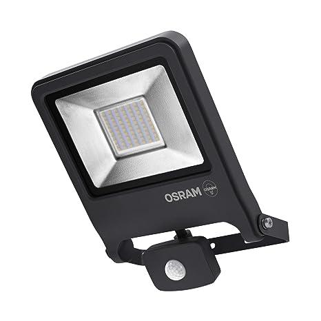Osram lámpara LED, Exterior, Foco, Foco, sensor, metal, 50 W