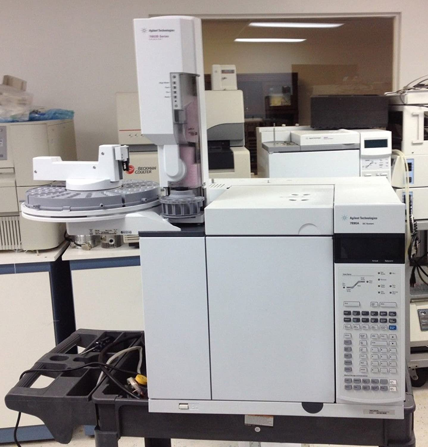 Agilent Technologies 7890 GC with FID Detector and 7683B Injector and Tray: Amazon.com: Industrial & Scientific
