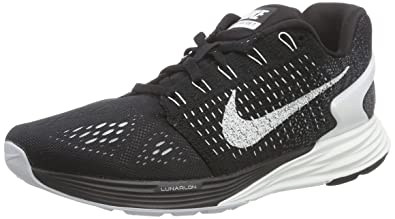 Nike Women s Lunarglide 7 Flash Running Shoes Black 803567-001 ... ceabb9b3b316