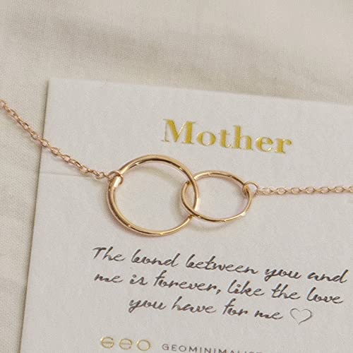 Christmas Presents For Mom From Daughter.Amazon Com Rose Gold Mothers Necklace Mother Daughter