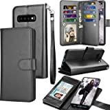 Tekcoo for Galaxy S10 Plus Case, for S10 Plus Wallet Case/PU Leather Case, Luxury Cash Credit Card Slots Holder Carrying Foli