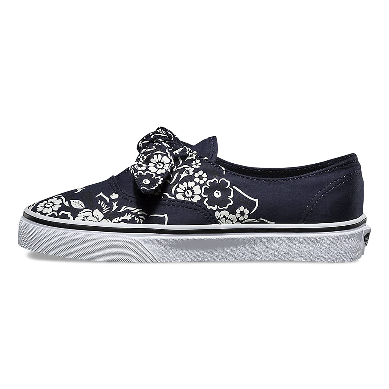 e1aedcd6d40738 Vans Authentic Knotted (Floral Bandana) Parisian Night True White  VN0A3MU2U6H Skate Shoes Blue Size  11.5 B(M) US Women   10 D(M) US Men   Amazon.co.uk  ...