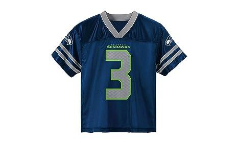 c0f110ae Amazon.com : Outerstuff Russell Wilson Seattle Seahawks Kids Navy ...