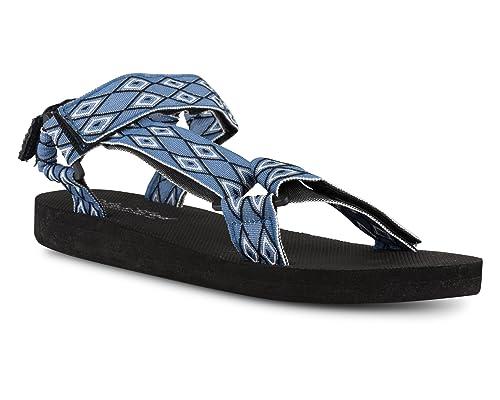 Telly Sandal Strap Women's Twisted Velcro H2DI9EWY