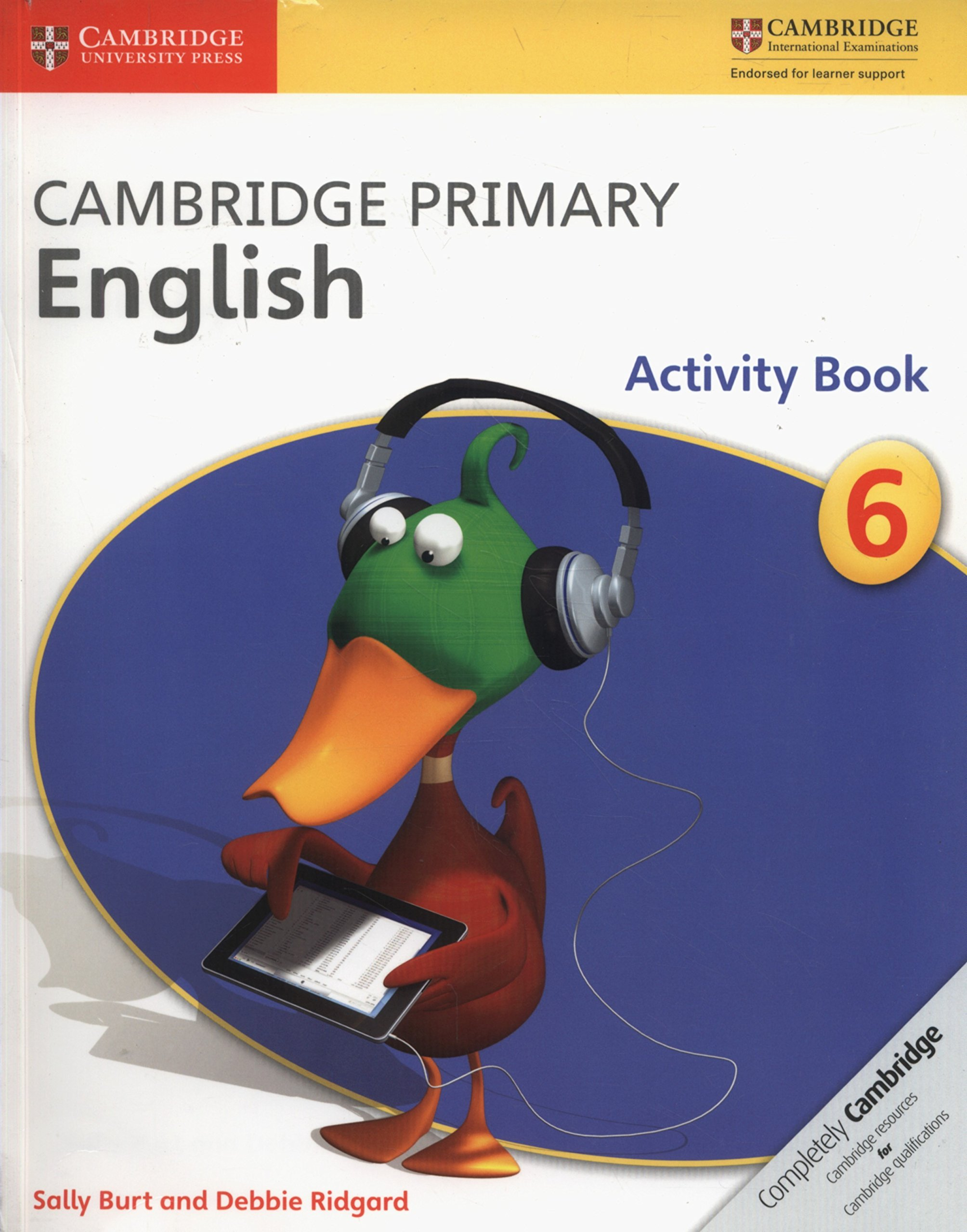 Download Cambridge Primary English Stage 6 Activity Book ebook