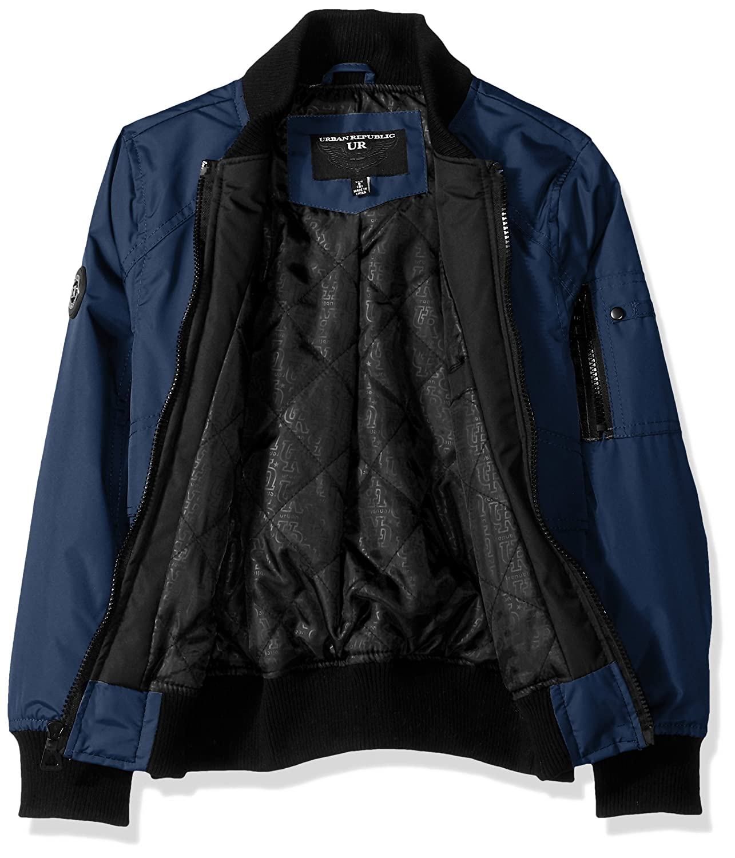 d918af210 Amazon.com  Urban Republic Boys  Ballistic Bomber Jacket  Clothing