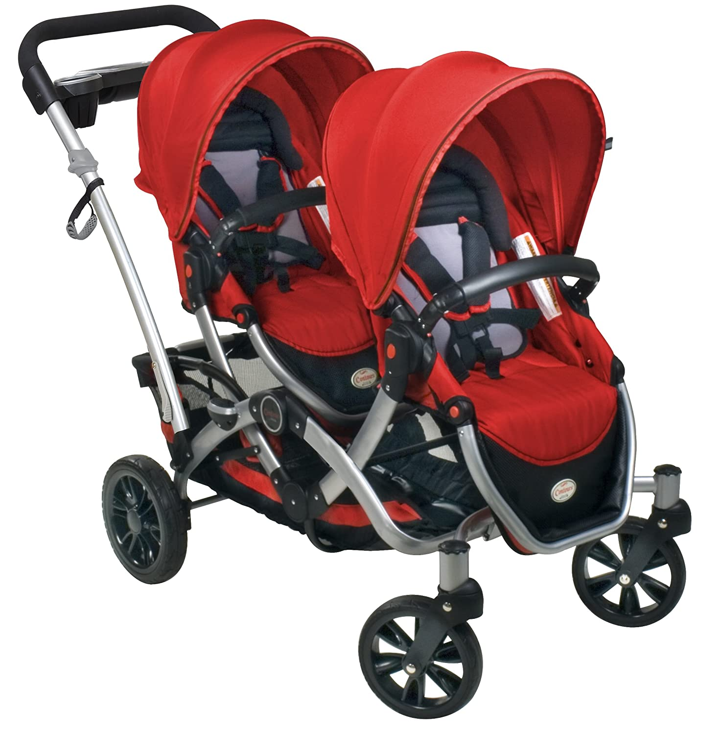 Amazon Contours Options Tandem Stroller Ruby Older Version Discontinued by Manufacturer Baby