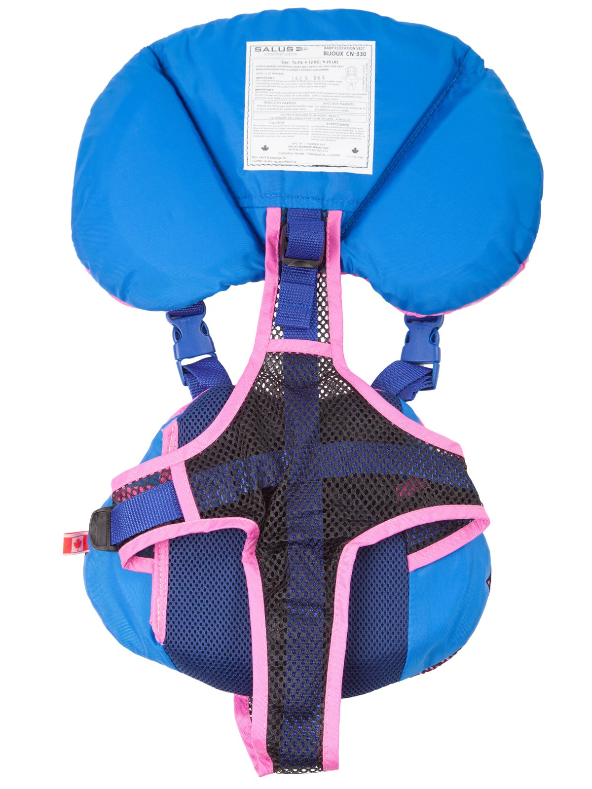 Salus Bijoux Baby Vest - Pink by Salus (Image #3)