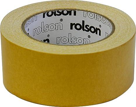 Rolson 60381 nastro biadesivo per tappeti 50 mm: amazon.it: fai da te