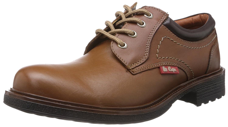 Lee Cooper Men's Leather Boat Shoes