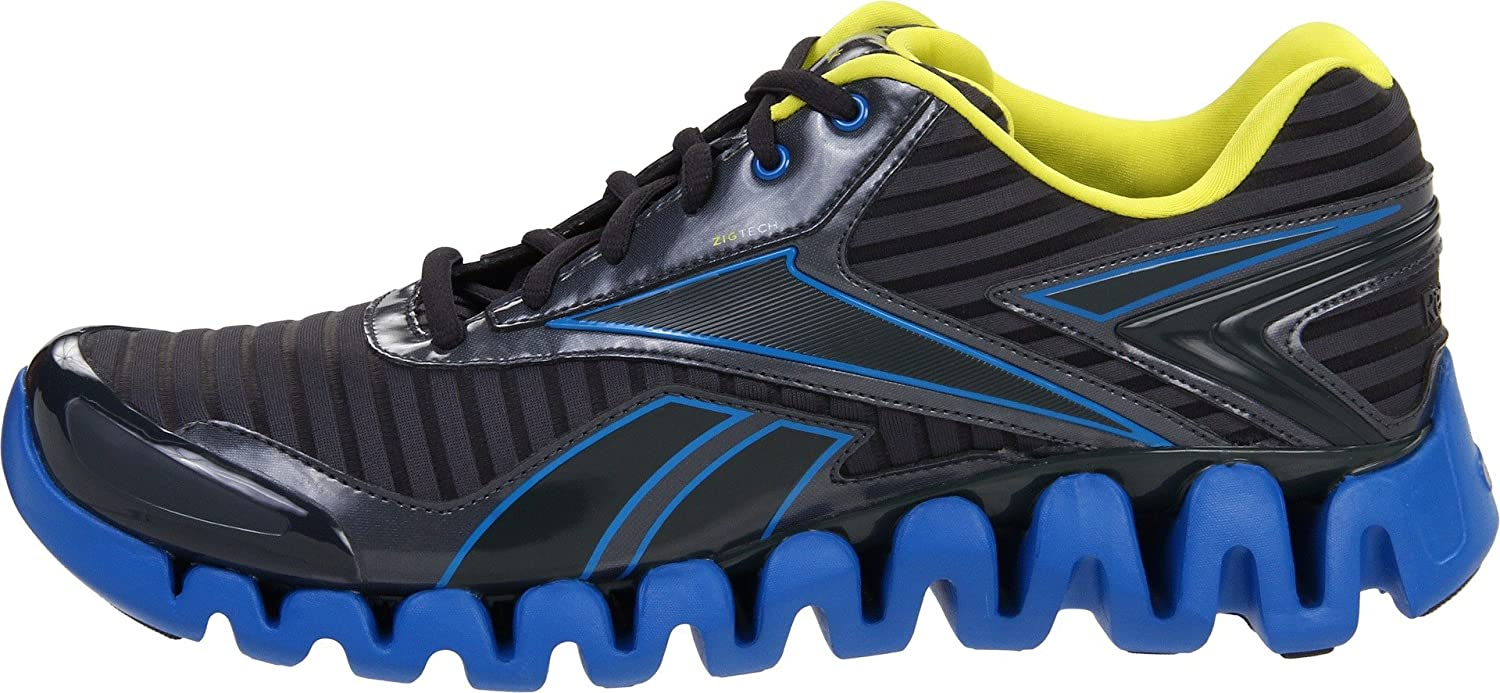 Reebok Zigactivate, zapatillas de running para hombre, Gris (Gris (Gravel/Blue/Sun Rock)), 41: Amazon.es: Zapatos y complementos