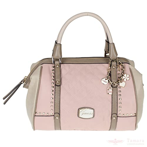 Guess - Bolso de asas para mujer rosa Rose Multi (Rosa / Braun)