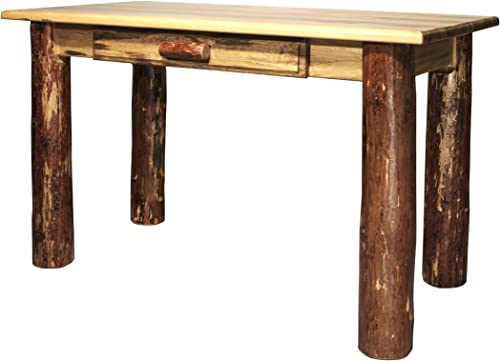 Montana Woodworks MWGCDLW Glacier Country Collection Desk