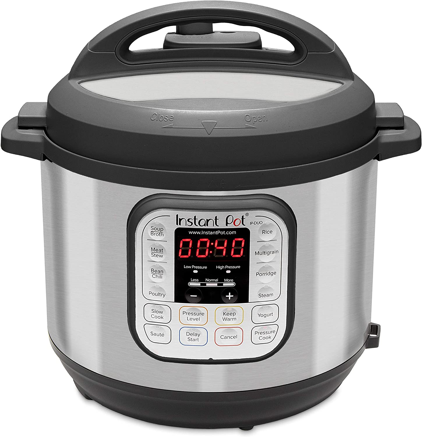 Instant Pot Duo 7-in-1 Electric Pressure Cooker, Slow Cooker, Rice Cooker, And More