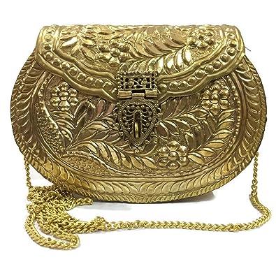 Trend Overseas Bolso para mujer, colección Diwali, Regalo de Navidad, Embrague de fiesta
