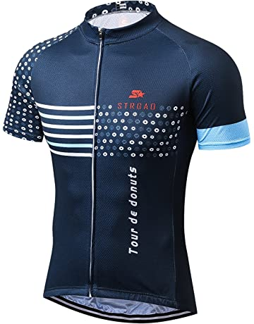 MR Strgao Men s Cycling Jersey Bike Short Sleeve Shirt 3c6fc4632