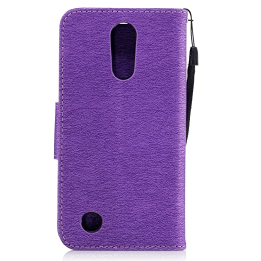 NEXCURIO LG K20 Plus / K20 V/Harmony / Grace LTE / K10 (2017) / V5 Wallet Case with Card Holder Folding Kickstand Leather Case Flip Cover for LG K20 ...