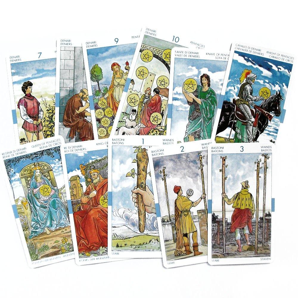 Universal Tarot, Mazo de 78 Cartas Tamaño Bolsillo con ...