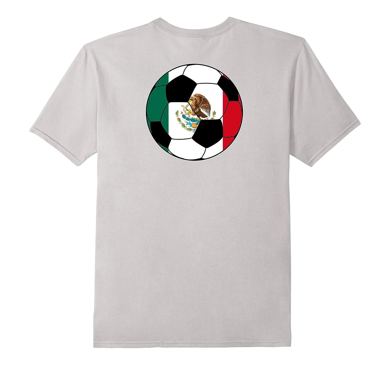 Cool Mexico Soccer Shirt Mexican flag-Vaci