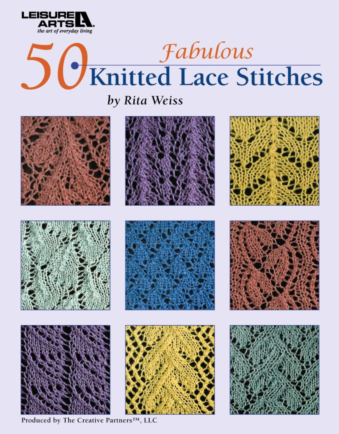 50 Fabulous Knitted Lace Stitches (Leisure Arts #4529): Rita Weiss ...