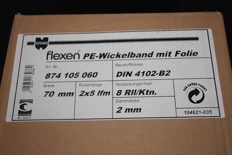 16 x Spr/ügel Rote Rollen Isolierung,Isolierrollen,PE Wickelband,Isolierband,Band Rolle