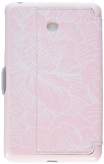 online store 53f33 6aebf Speck Products Compatible Case for Verizon Ellipsis 8, Stylefolio Case,  Fresh Floral Pink/Nickel Grey