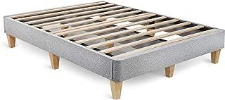 product image for Leesa Full Platform Bed Mattress Foundation, Gray