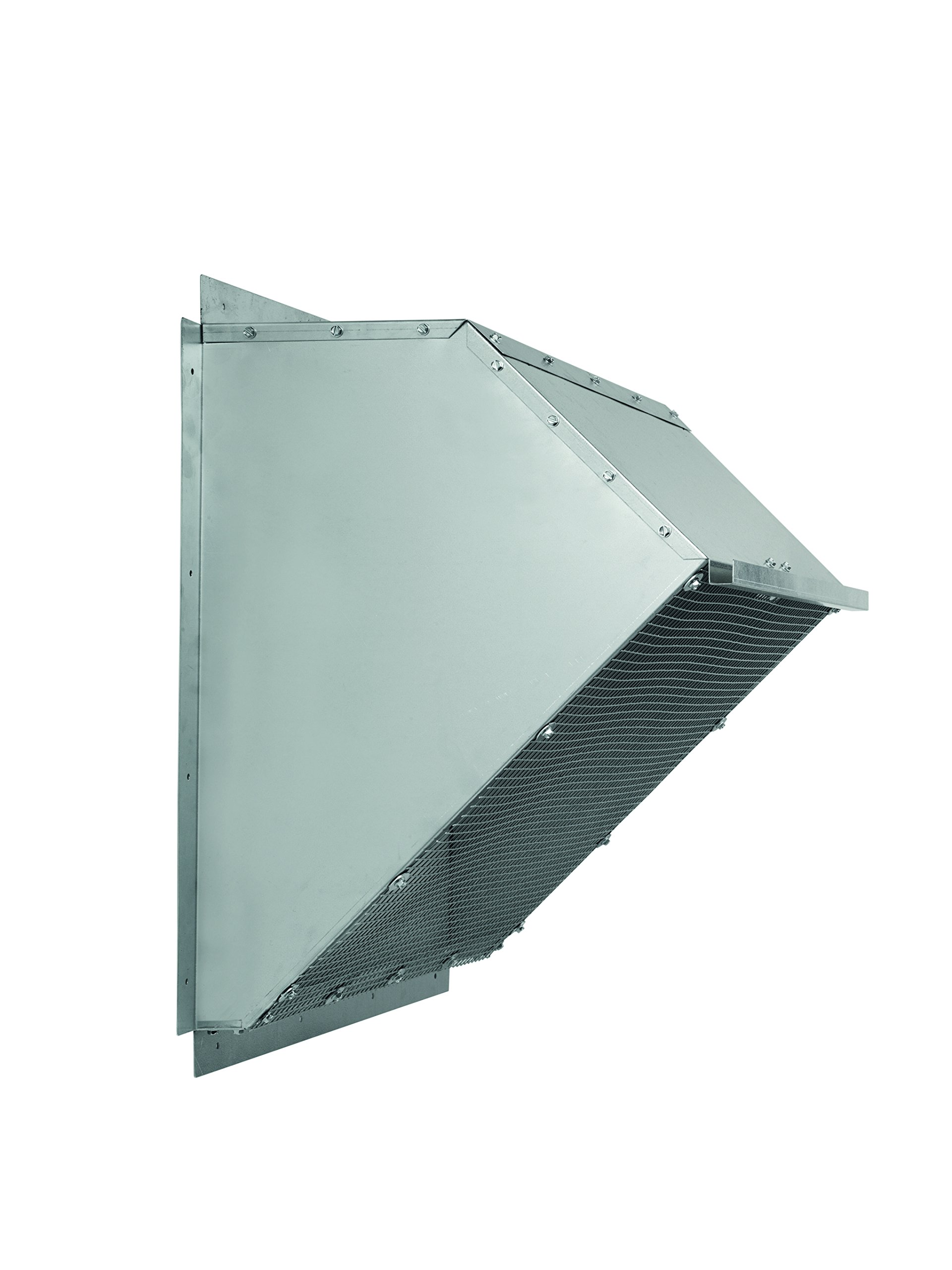 Fantech 1ACC24WH Weather Hood for Exhaust/Supply Fans, Galvanized, 24''