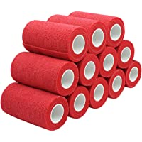 COMOmed Cohesive Flexible Bandage Self-adhesive Bandage Roll Latex-free Non-woven Cohesive Athletic Tape Alleray tested…