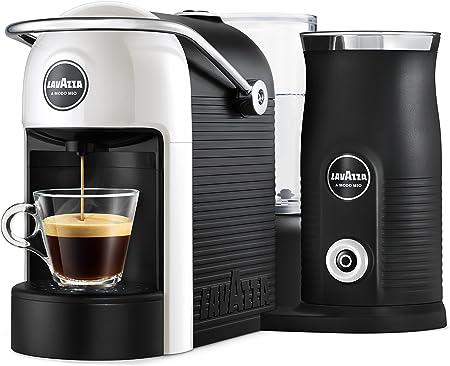 Lavazza A Modo Mio - Jolie & Milk - Cafetera con espumador de leche Bianco: Amazon.es: Hogar