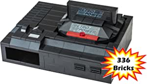 Genesis Retro Brick Raspberry Pi 4B, 3B, 3B+, 2B Case (336 Bricks), RetroPie, Sega