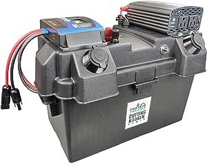 Cutting Edge Power 500W Pure Sine MPPT Premium Solar Generator with 500W Output / 1200W Solar Input, Portable Battery Box