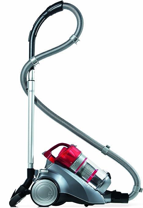 Dirt Devil M 5036-4 Infinity VS8 Turbo - Aspirador sin saco con sistema multiciclo (1600 W), color rojo: Amazon.es: Hogar