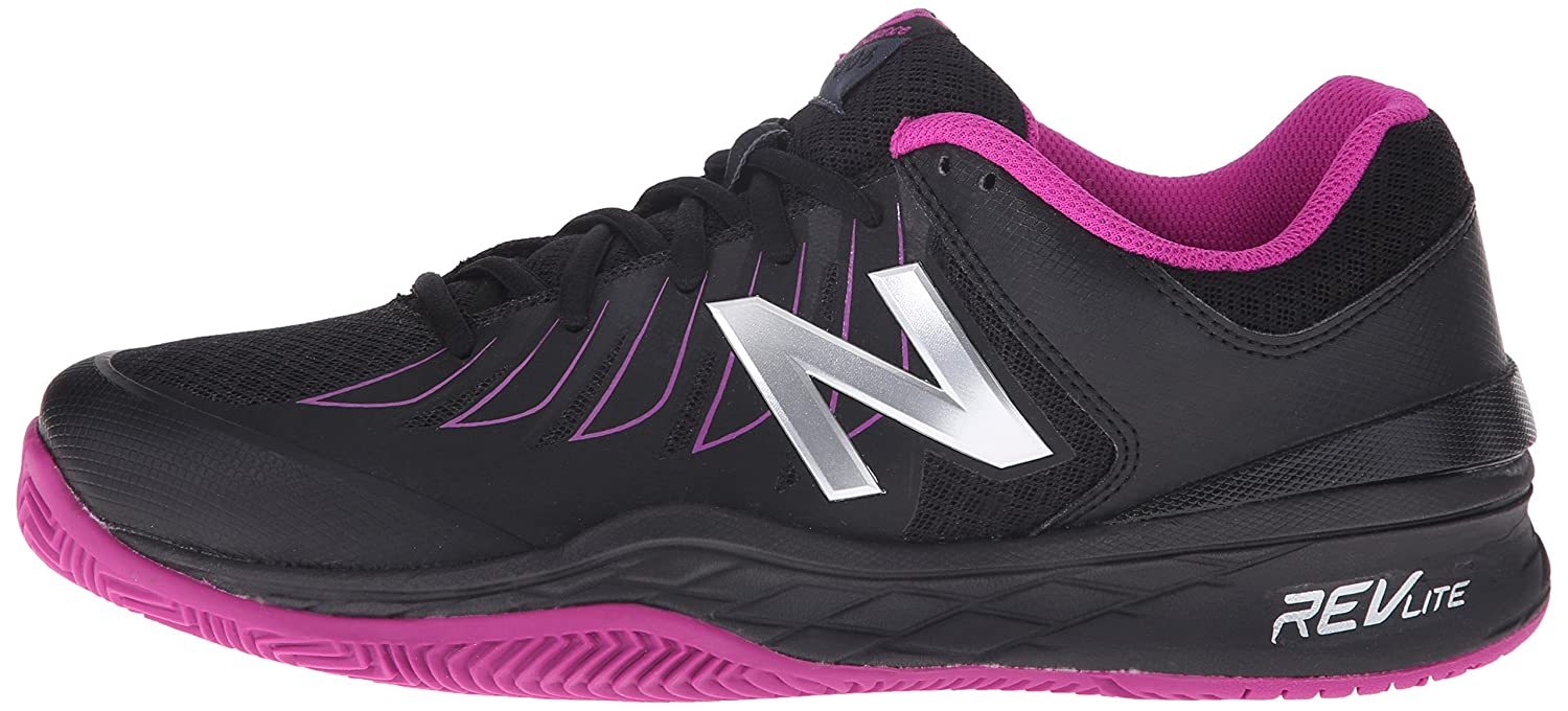New Balance Women's WC1006v1 Tennis Shoe B00V3QVHQ6 8.5 B(M) US|Black/Pink