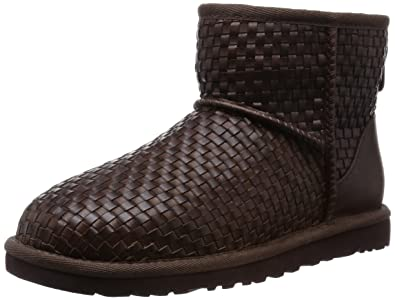 UGG Australia Woven Leather Ankle Boots discount many kinds of GLOtpaTo7