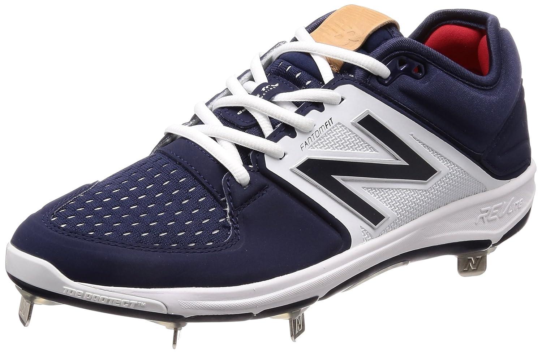 [ニューバランス] 野球スパイク L3000(現行モデル) B06XGYNLC9ネイビー/ホワイト 28.5 cm D