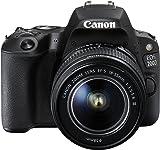Canon EOS 200D EF-S 18 - 55 mm f/3.5-5.6 DC Camera - Black