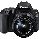 Canon EOS 200D EF-S 18 - 55 mm f/3.5-5.6 DC Camera - Black