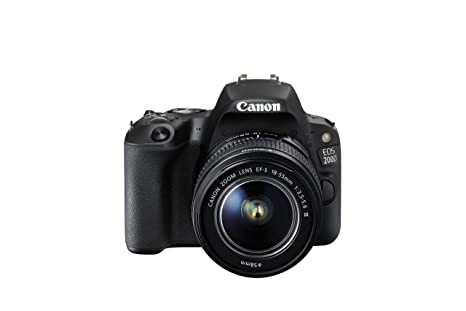 Canon EOS 200D + EF-S 18-55mm f/3.5-5.6 III Juego de cámara SLR ...